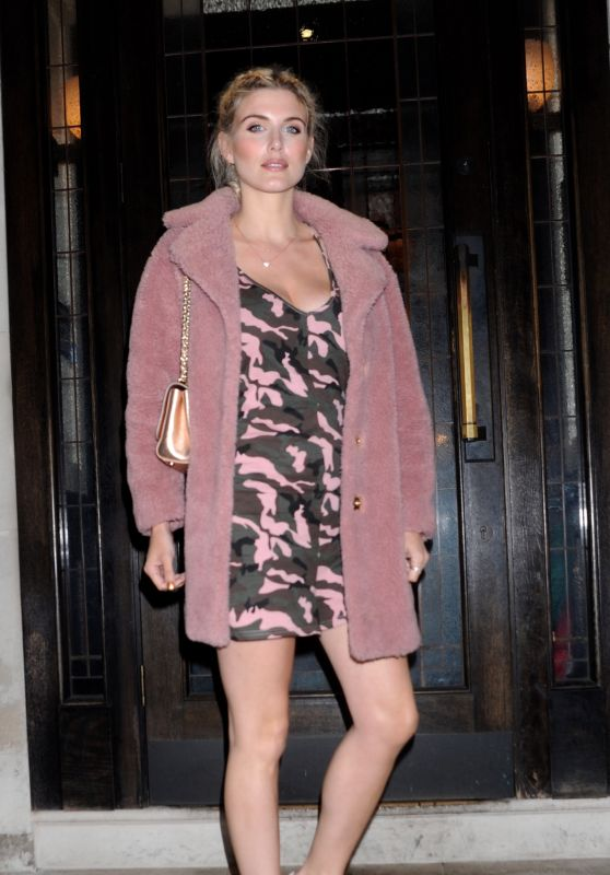 Ashley James - Urban Decay VIP Dinner in London, UK 04/24/2017