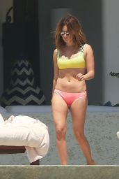 Ashley Tisdale Shows Off Her Bikini Body - Cabo San Lucas, Mexico 4/2/2017