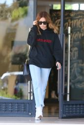 Ashley Tisdale Street Style - Leaving Barneys in Los Angeles 3/31/2017