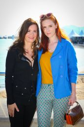 """Audrey Fleurot - """"Engrenages"""" Photocall - MIPTV at Cannes in France 4/3/2017"""