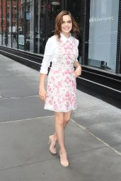 Bailee Madison - Arrives to Aol Build Series in NYC 4/4/2017