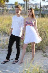 Bailee Madison Photoshoot With Her Boyfriend Alex Lange - Fort Lauderdale 04/26/2017