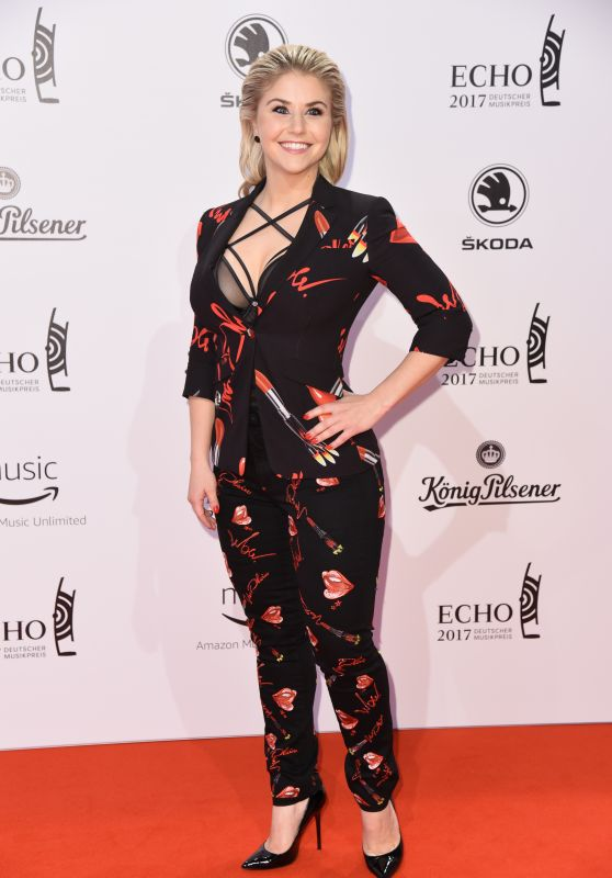 Beatrice Egli at ECHO Music Awards 2017 in Berlin