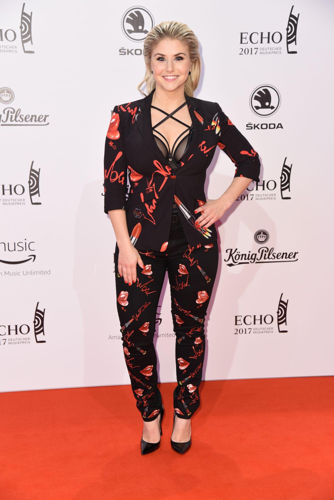 Beatrice Egli at ECHO Music Awards 2017 in Berlin