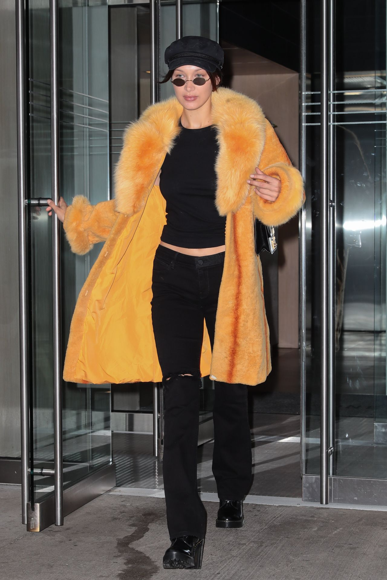 Bella Hadid Chic Outfit - Out in New York City 04/25/2017
