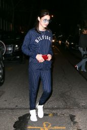 Bella Hadid - Going to Dinner in NYC 4/5/2017