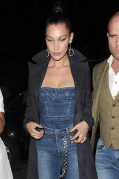 Bella Hadid in Casual Attire - Out in London 4/20/2017