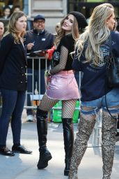 Bella Thorne - Outside the AOL Building in NYC 4/18/2017