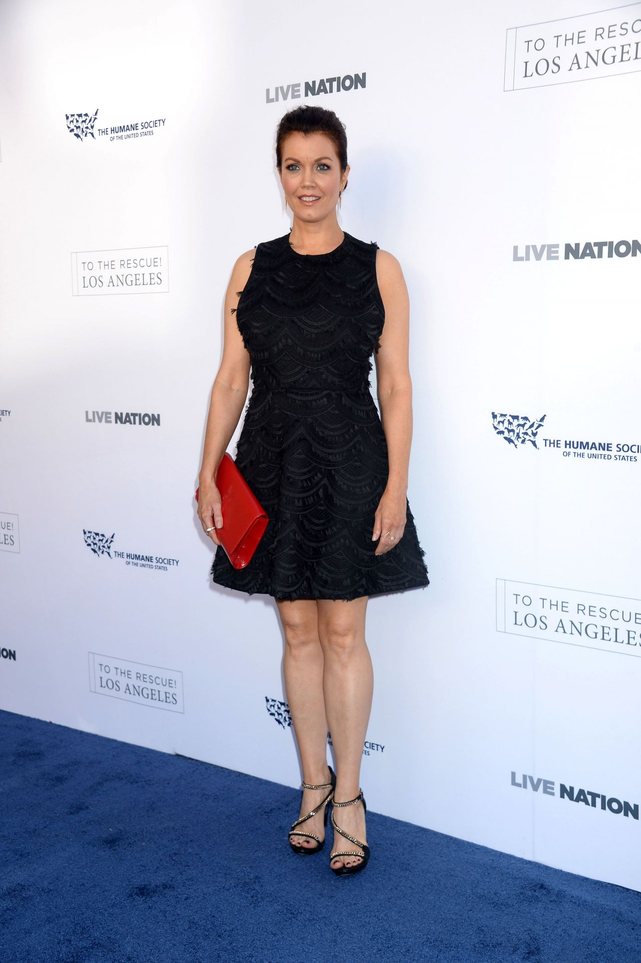 Bellamy Young Quot To The Rescue Quot Fundraising Gala In Los