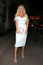 Bianca Gascoigne - Cancer Charity Event in London 4/12/2017