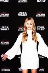 Billie Lourd - 40 Years of Star Wars Panel at 2017 STAR WARS CELEBRATION, Orange County 4/13/2017