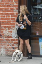 Billie Lourd and Taylor Lautner - Out in Venice 4/17/2017