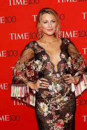 Blake Lively on Red Carpet – Time 100 Gala in New York 04/25/2017