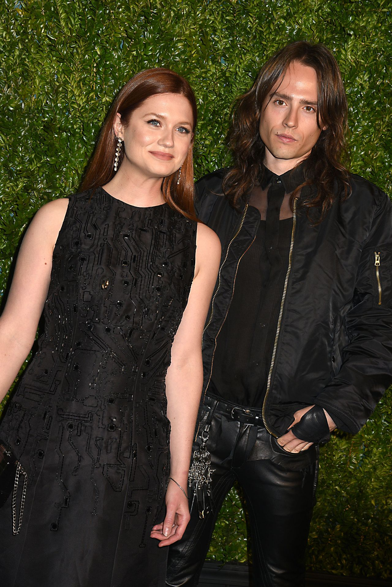 Bonnie Wright Chanel Artists Dinner At Tribeca Film