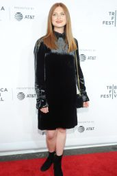 "Bonnie Wright - ""Clive Davis: The Soundtrack of Our Lives"" Premiere at Tribeca Film Festival 4/19/2017"