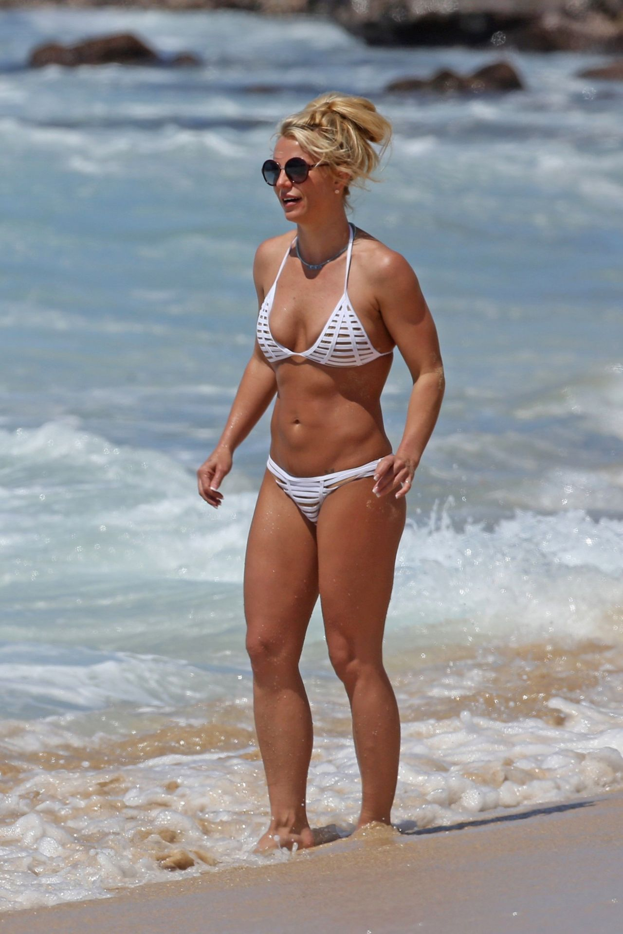Fakes beach britney spears