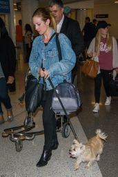 Brittany Snow - LAX Airport 4/7/2017