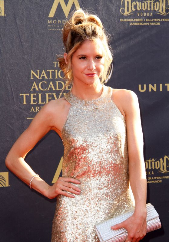 Brittany Underwood – Daytime Creative Arts Emmy Awards 2017 in Pasadena