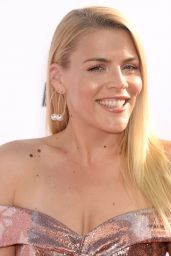 Busy Philipps on Red Carpet at Daily Front Row's Fashion Los Angeles Awards 2017