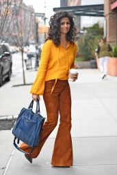 Camila Alves is Stylish - New York City 4/4/2017