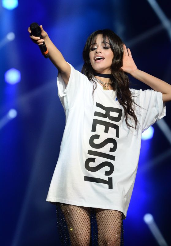 Camila Cabello Performs at Zedd's Welcome! ACLU Benefit Concert 4/3/2017