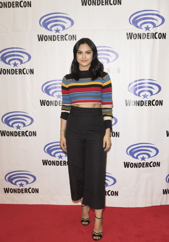 "Camila Mendes at ""Riverdale"" Press Room at WonderCon in Anaheim 3/31/2017"