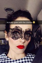 Camilla Belle Social Media Pics 4/5/2017