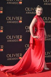 Camilla Kerslake on Red Carpet – Olivier Awards 2017 in London