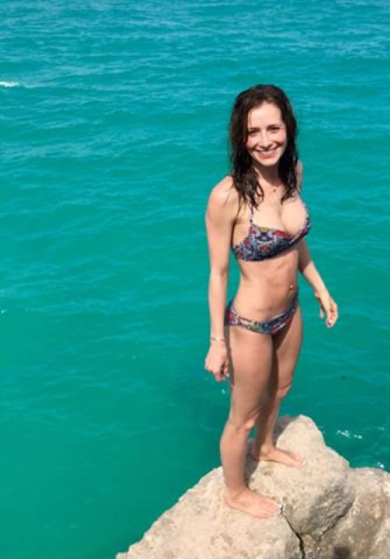 Candace Bailey in Bikini - Barbados, April 2017
