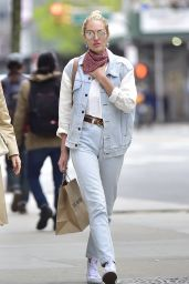 Candice Swanepoel - Out in New York City 04/27/2017