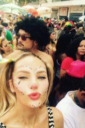Candice Swanepoel Social Media Pics 4/4/2017