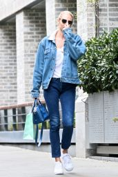 Candice Swanepoel Street Style - East Village in NYC 04/26/2017