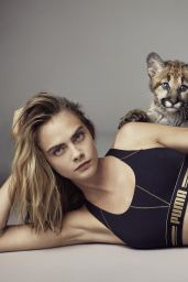 Cara Delevingne - Campaign for Puma - Spring/Summer 2017