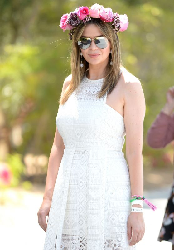 Carly Steel at Coachella 2017 in Indio