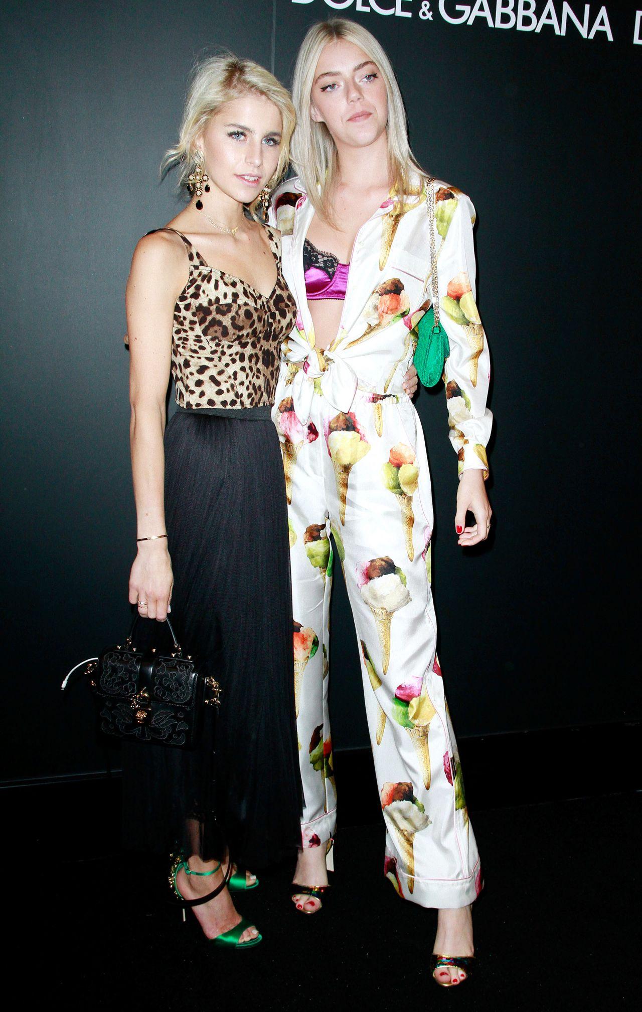 a432b5d9212d9 Caroline Daur and Pyper America Smith – Dolce   Gabbana Party at JK  Iguatemi Sao Paulo 04 25 2017