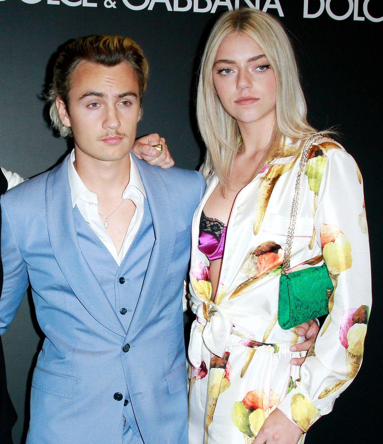 de00ce02f310f Caroline Daur and Pyper America Smith - Dolce   Gabbana Party at JK  Iguatemi Sao Paulo ...