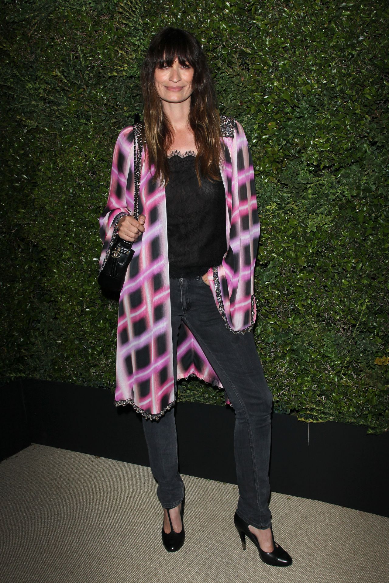 Caroline De Maigret Chanel Dinner In Los Angeles April 2017