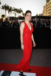 Caroline Dhavernas - MIPTV Opening Party at the Martinez Hotel in Cannes 4/7/2017