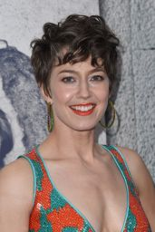 """Carrie Coon at """"The Leftovers"""" Season 3 Premiere in Hollywood 4/4/2017"""