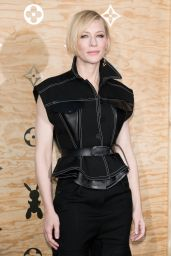 Cate Blanchett at Louis Vuitton Dinner Party, Louvre in Paris 4/11/2017