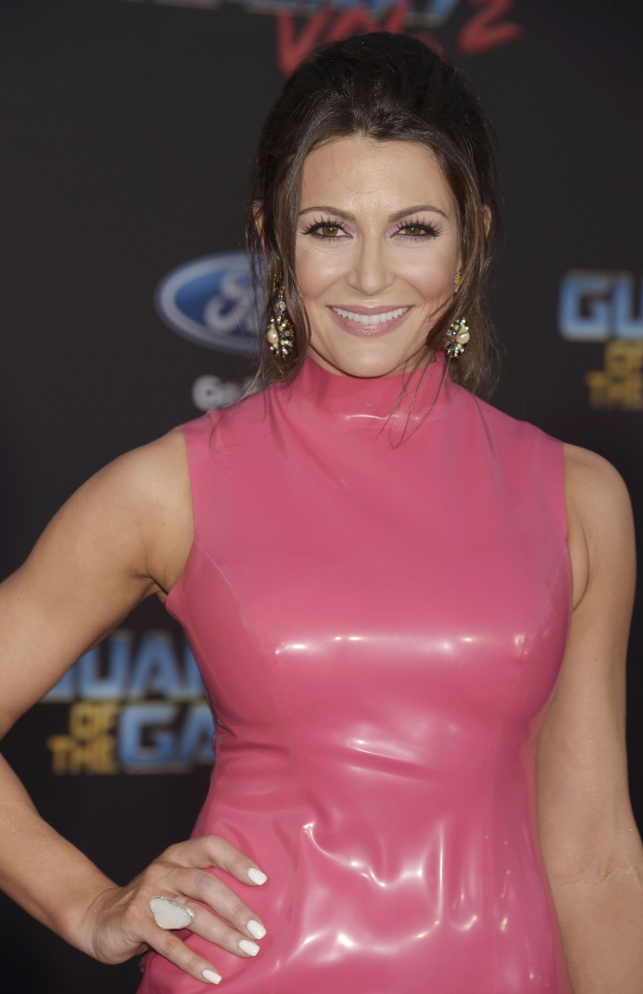 Cerina Vincent On Red Carpet Guardians Of The Galaxy Vol