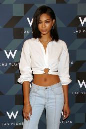 Chanel Iman at W Las Vegas Hosts Grand Opening Celebration – Las Vegas 3/31/2017