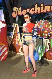 Charli XCX at Moschino Candy Crush Desert Party – Coachella 4/15/2017