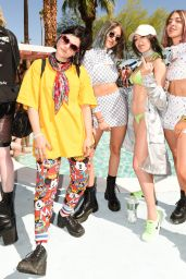 Charli XCX - Galore x Grindr Pool Party at Coachella in Palm Springs 4/14/2017