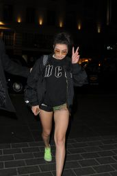 Charli XCX Night Out Style - London 4/20/2017