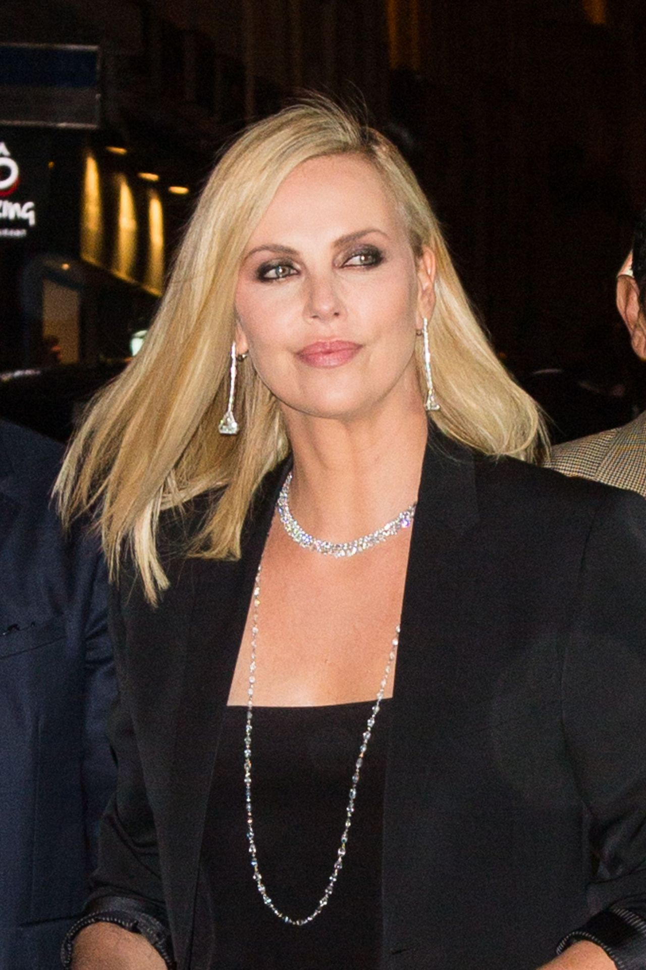 """Charlize Theron Arrive to the Premiere of """"The Fate of the Furious"""" in Paris 4/5/2017"""