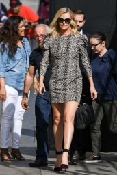 Charlize Theron - Arrives at Jimmy Kimmel Show 4/13/2017