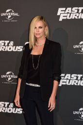 "Charlize Theron on Red Carpet - ""The Fate of the Furious"" Premiere in Paris 4/5/2017"