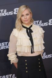 "Charlize Theron - ""The Fate of the Furious"" Photocall in Madrid 4/6/2017"