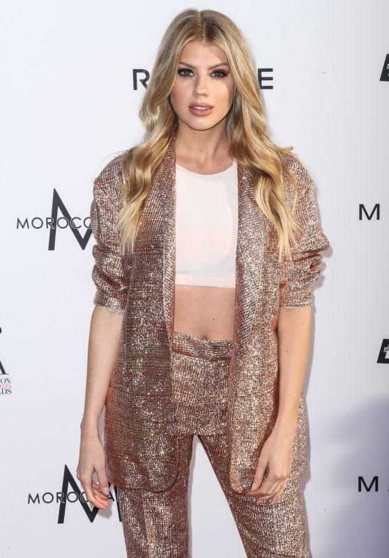 Charlotte McKinney at Daily Front Row's Fashion Los Angeles Awards 2017